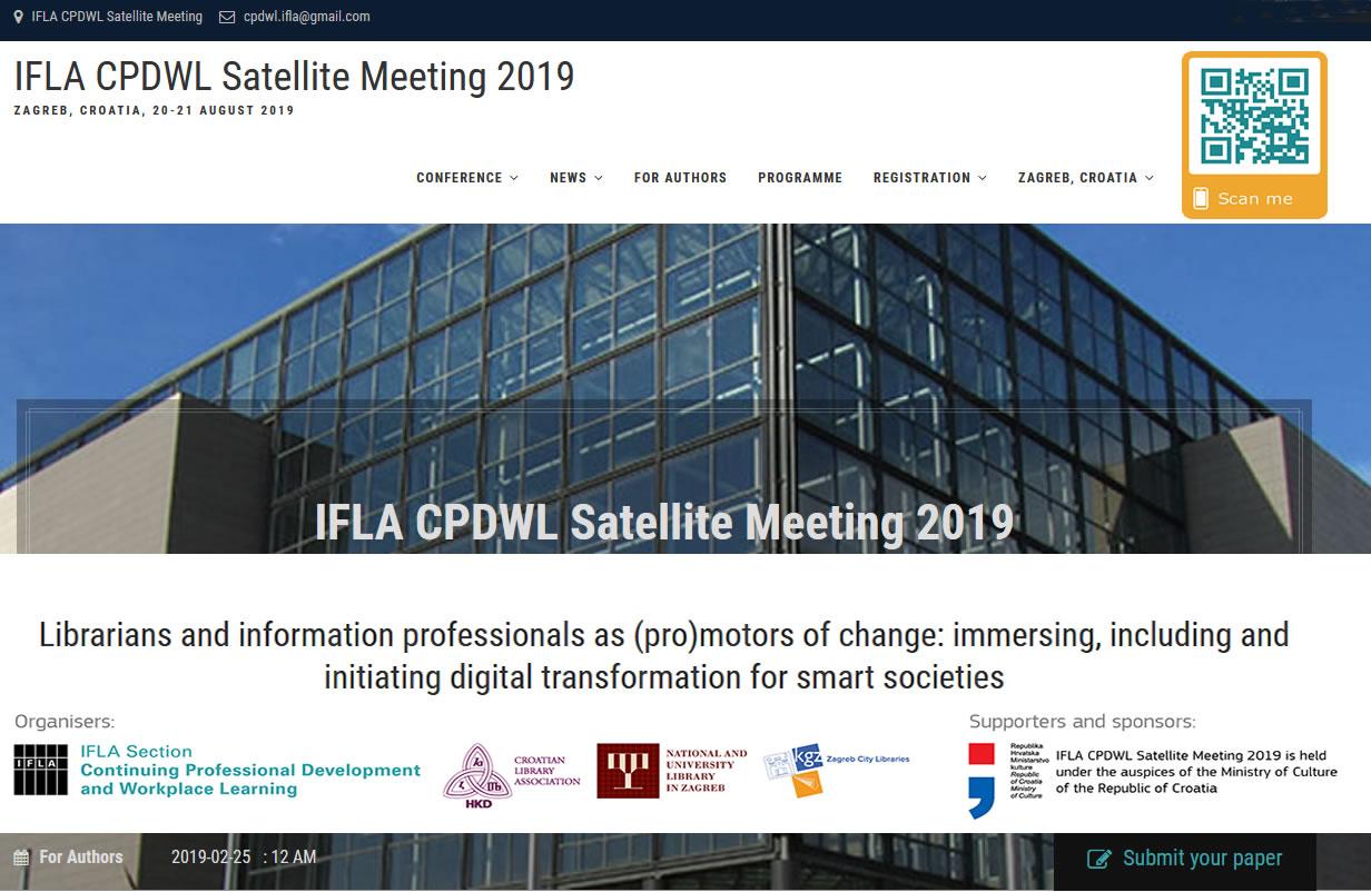 Croatian Library Association :: News